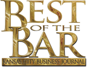 Logo Recognizing Law Office of Kevin J. McManus's affiliation with the Kansas City Business Journal